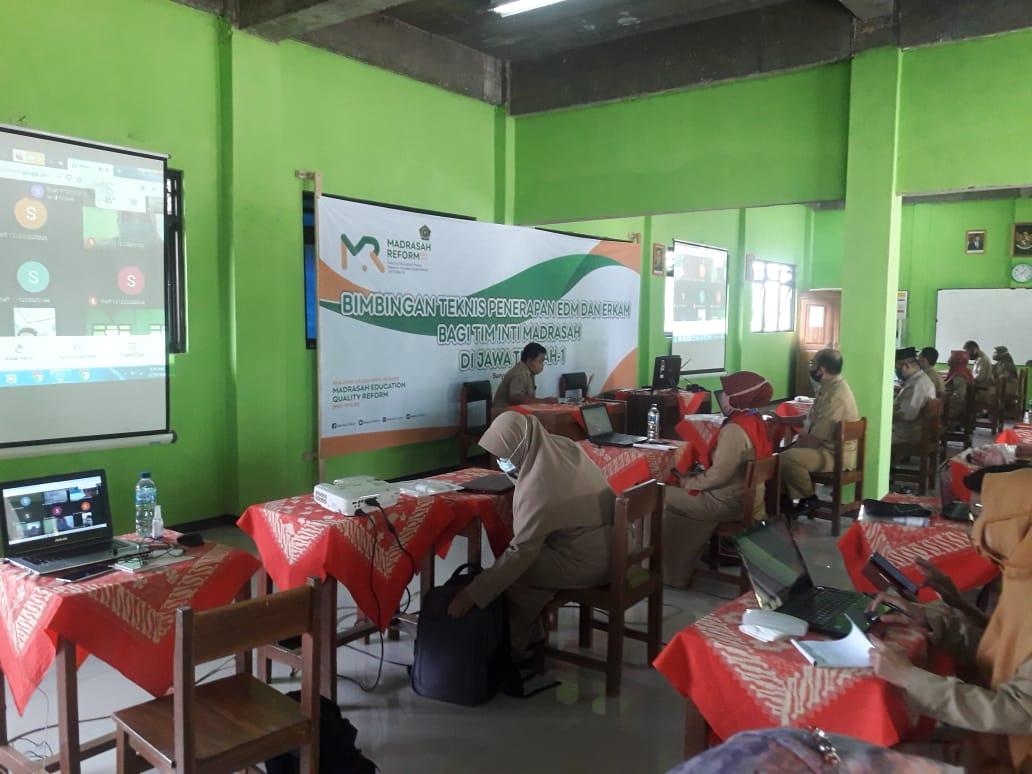 Bimtek Penerapan EDM dan ERKAM Bagi Tim Inti Madrasah Jawa Tengah-1