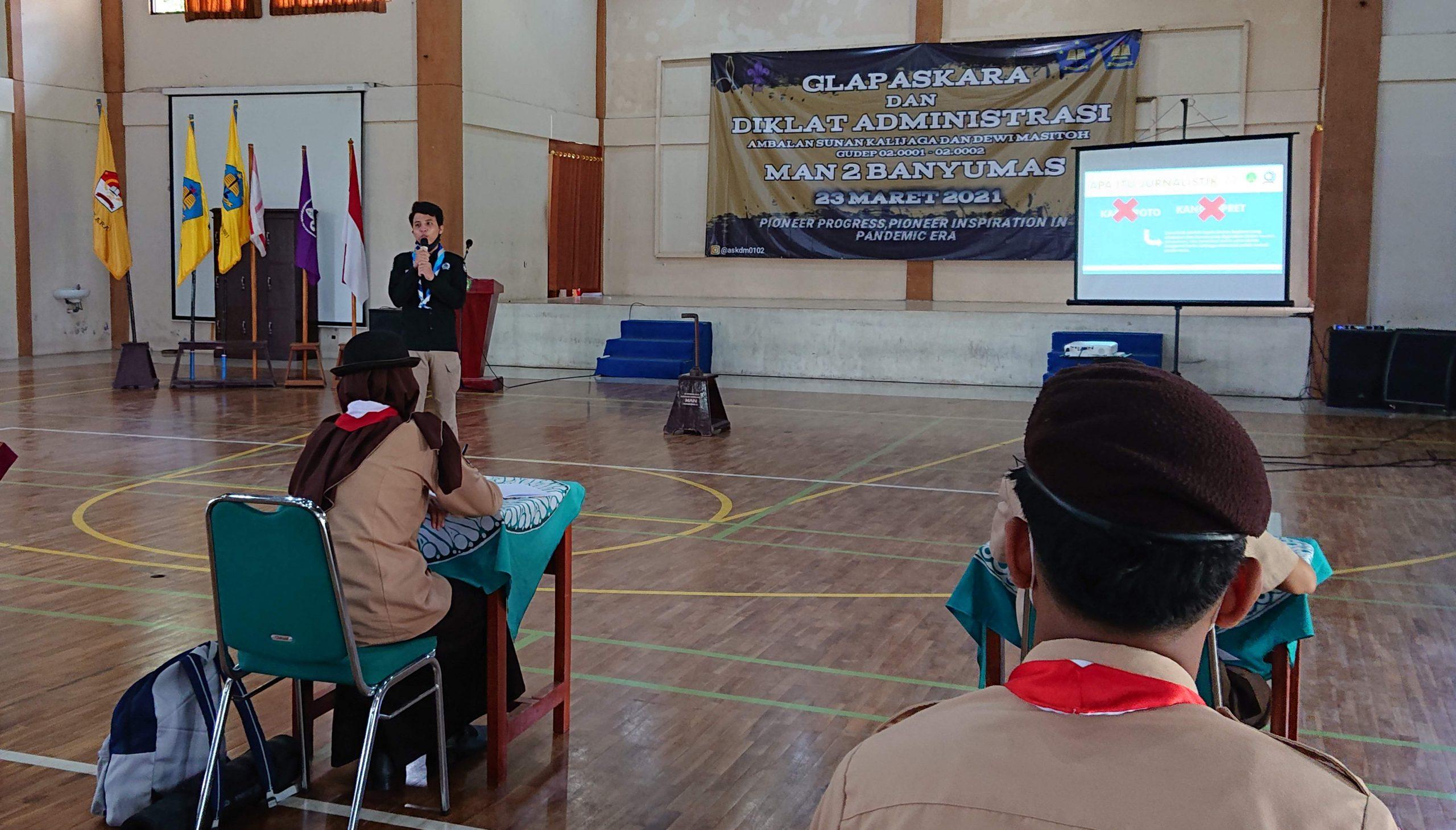 Kegiatan Glapaskara dan Kegiatan Diklat Administrasi Ambalan Sunan Kalijaga dan Dewi Masitoh Tahun 2021 dilaksanakan Pada Saat Bersamaan