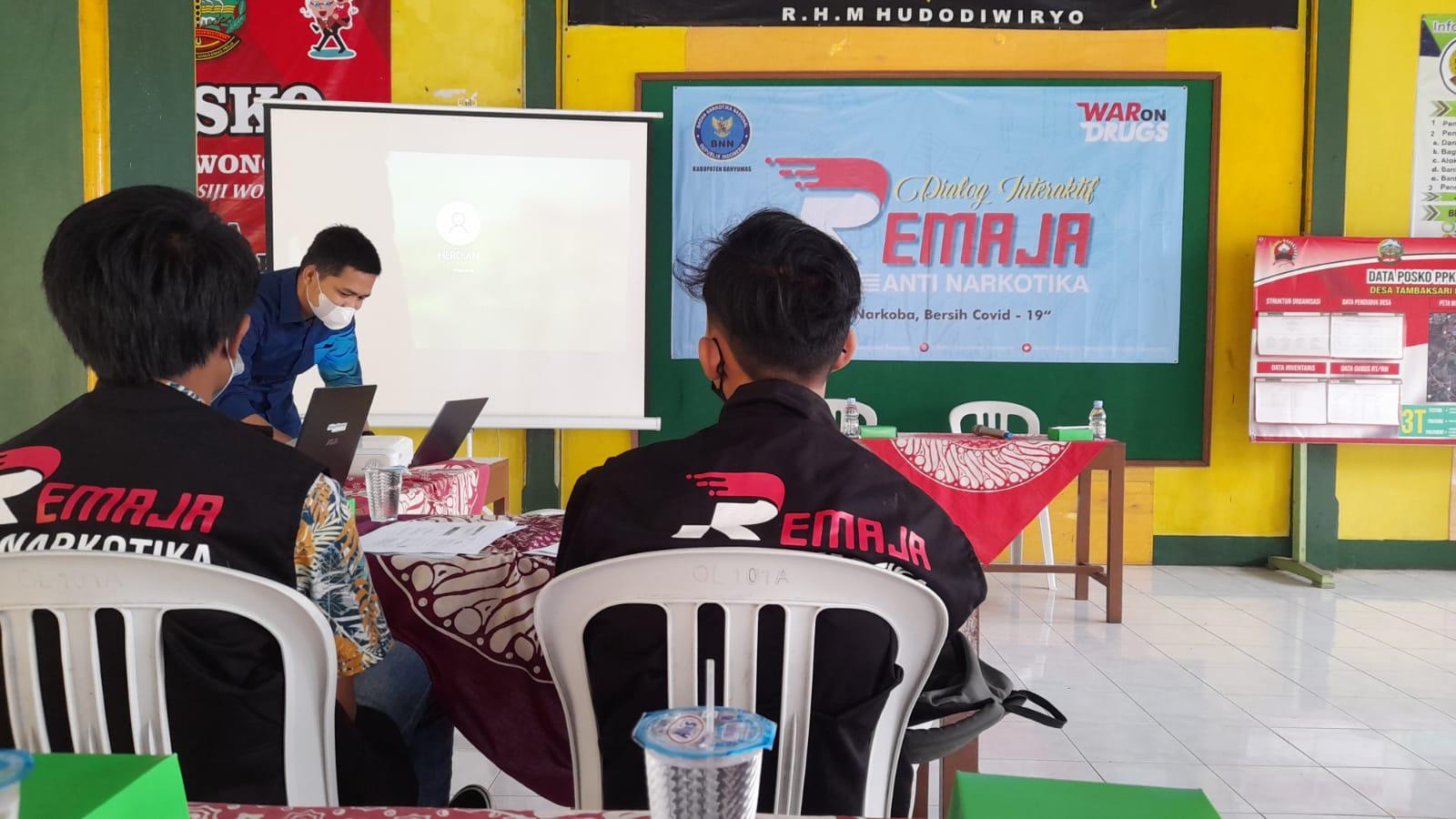 Program Pilot Project Desa Bersinar, BNNK Banyumas Tunjuk Tiga Siswa MAN 2 Banyumas Pada Kegiatan Dialog Interaktif Remaja Anti Narkotika
