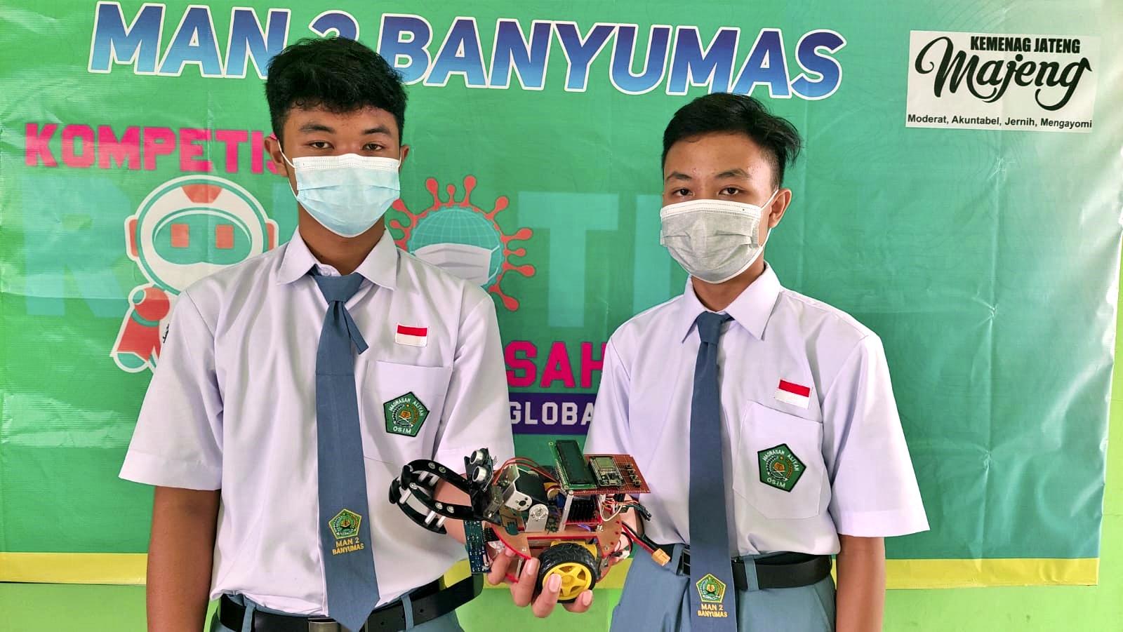 Prestasi Tim Robotik MAN 2 Banyumas Pada Ajang Madrasah Robotics Competition (MRC) 2021